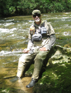 The uniform of fly fishing