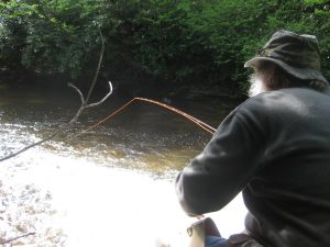Patient fishing, one of the 11 things fly fishermen must learn