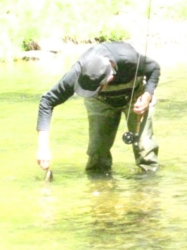 Breathable waders Fly